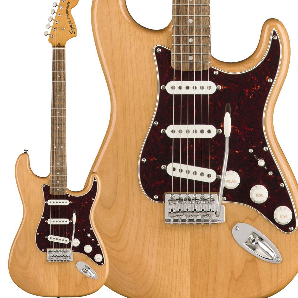 Squier by Fender Classic Vibe '70s Stratocaster Squier Laurel Vibe Fingerboard '70s Natural エレキギター ストラトキャスター【スクワイヤー/ スクワイア】, 良品特価 【モノイズム】:8f1075b3 --- sunward.msk.ru