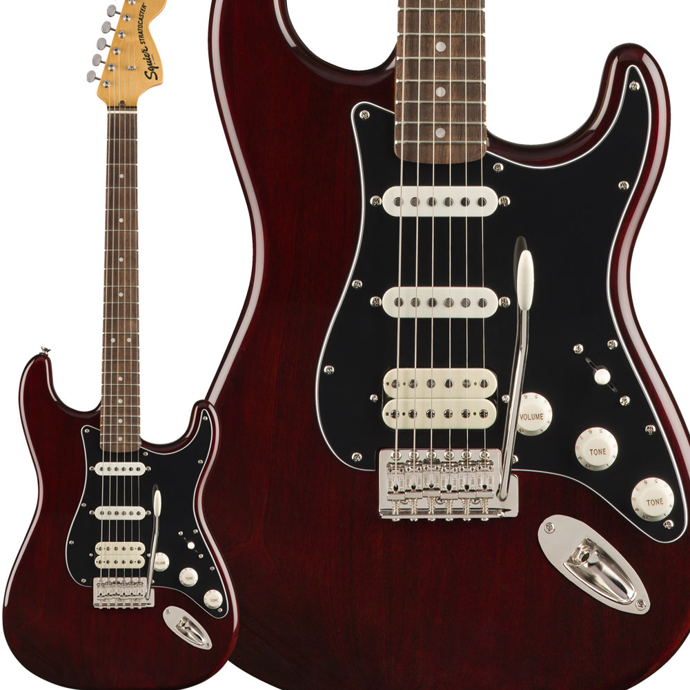 Squier Squier by Fender Classic Vibe '70s Stratocaster【スクワイヤー HSS Laurel Vibe Fingerboard Walnut エレキギター ストラトキャスター【スクワイヤー/ スクワイア】, 倉岳町:85f6ce32 --- mail.ciencianet.com.ar