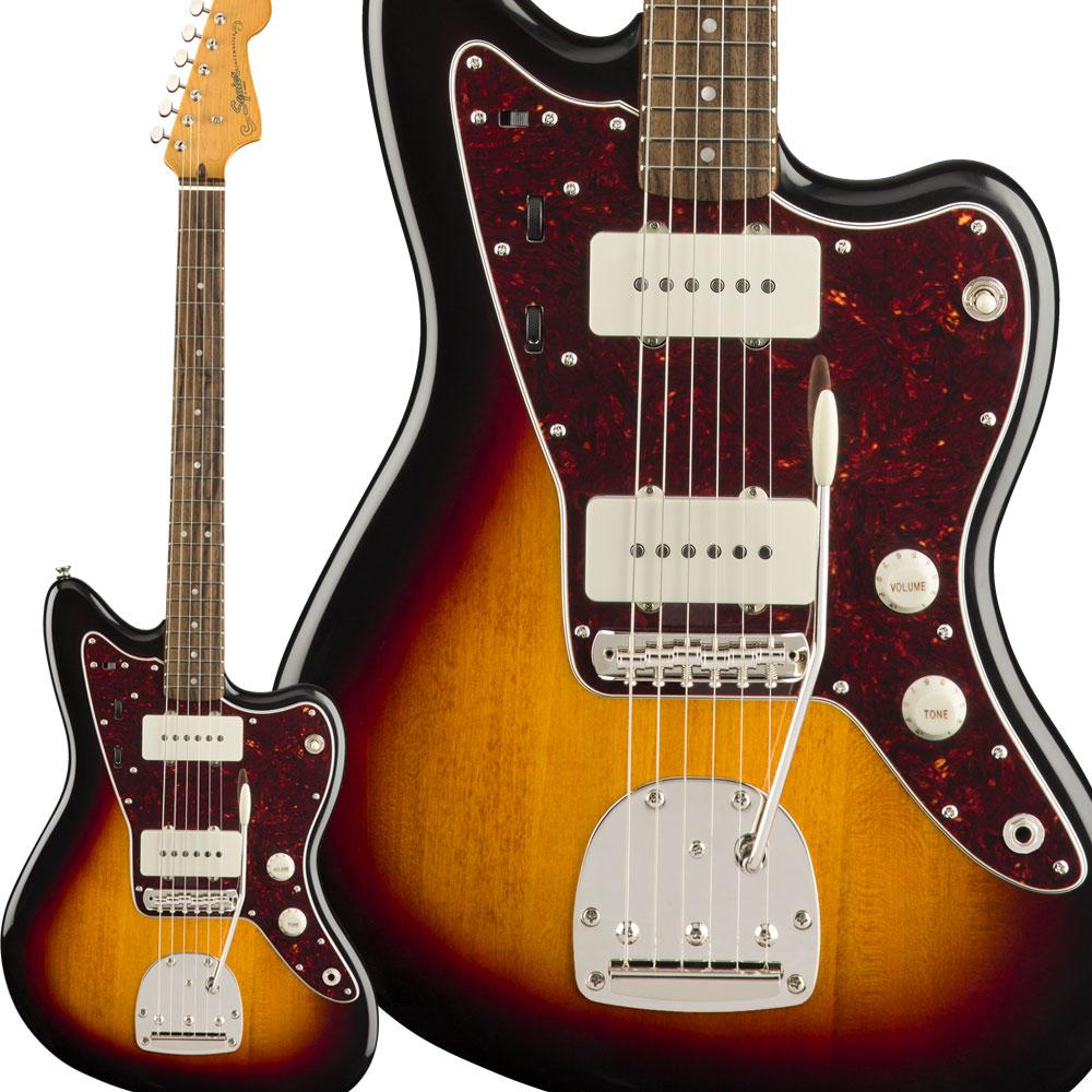 Squier by Fender Classic Vibe '60s Jazzmaster Laurel Fingerboard 3-Color Sunburst エレキギター ジャズマスター 【スクワイヤー / スクワイア】
