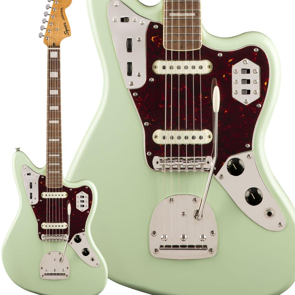 Squier by Fender Classic Vibe '70s Jaguar Laurel Fingerboard Surf Green エレキギター ジャガー 【スクワイヤー / スクワイア】
