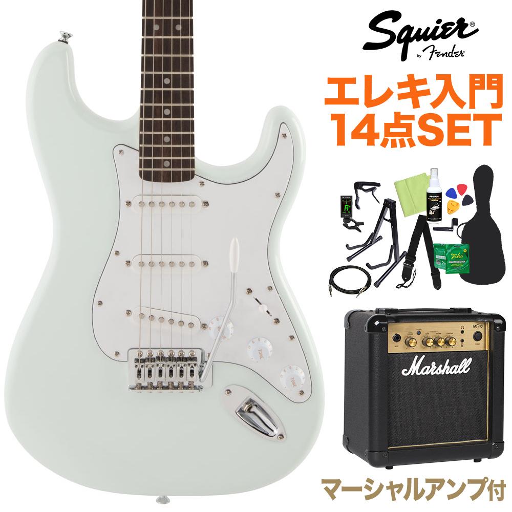 Squier/ by Fender FSR Affinity FSR SeriesStratocaster Sonic Blue 初心者14点セット SeriesStratocaster【マーシャルアンプ付】 エレキギター ストラトキャスター【スクワイヤー/ スクワイア】, レイライン:cf2ad994 --- sunward.msk.ru