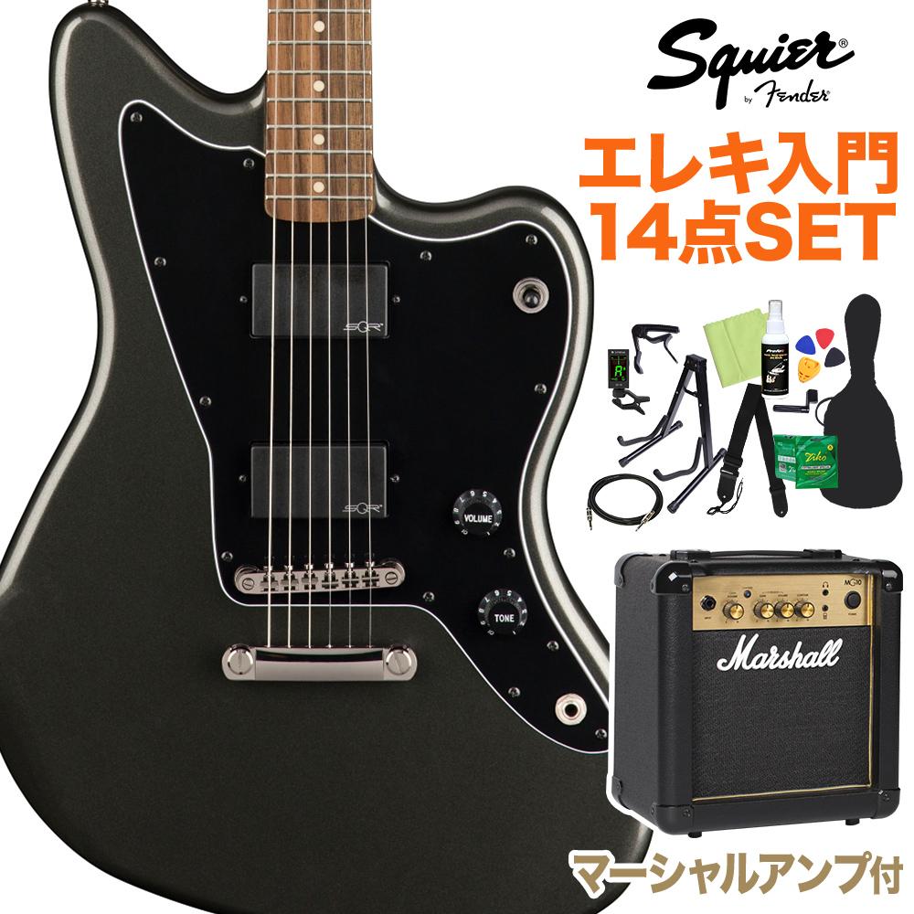 Squier Squier by Fender Contemporary Active Jazzmaster スクワイア】 Contemporary HH ST, Graphite Metallic 初心者14点セット【マーシャルアンプ付き】 エレキギター ジャズマスター【スクワイヤー/ スクワイア】, ナチュラルウェルネス:847259fc --- sunward.msk.ru