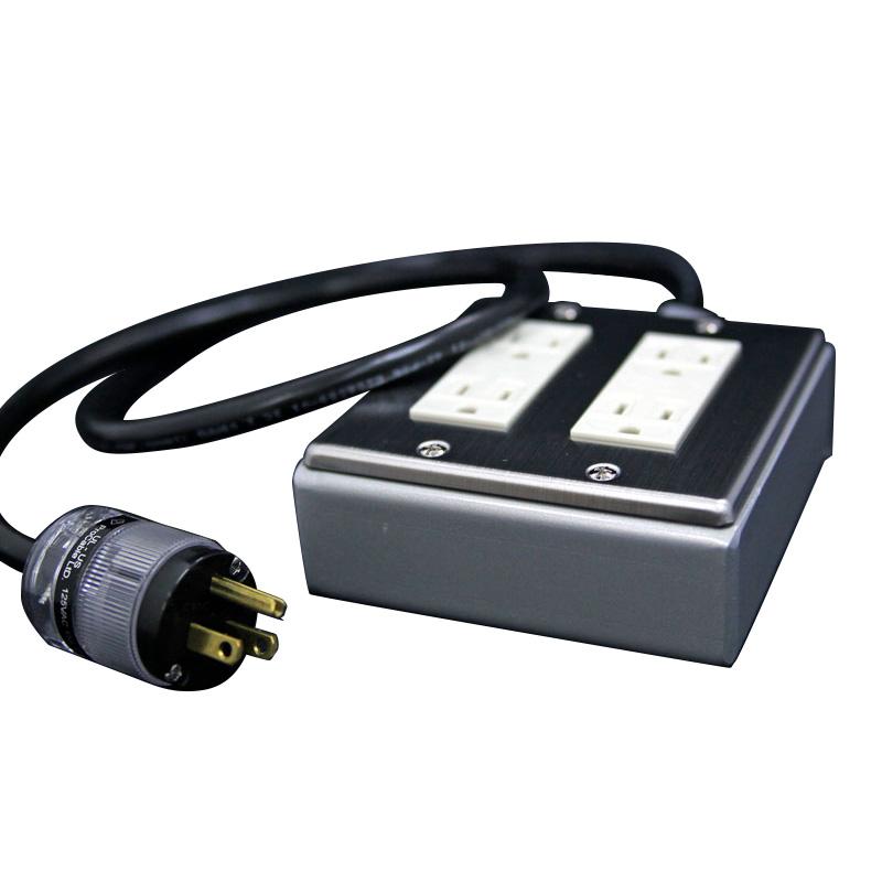 PRO CABLE BTAP4-100 電源タップ 超越重鉄タップ 4個口 1m 【プロケーブル】