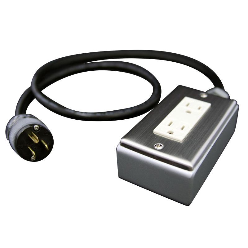 PRO CABLE BTAP2-100 電源タップ 超越重鉄タップ 2個口 1m 【プロケーブル】