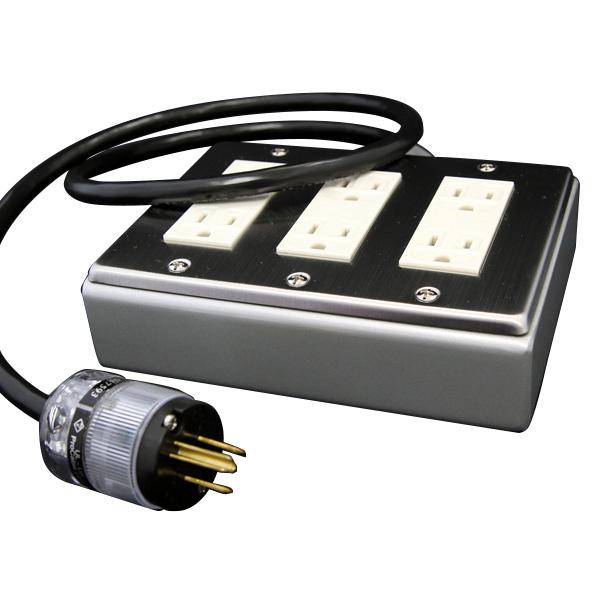 PRO CABLE BTAP6-200 電源タップ 超越重鉄タップ 6個口 2m  【プロケーブル】