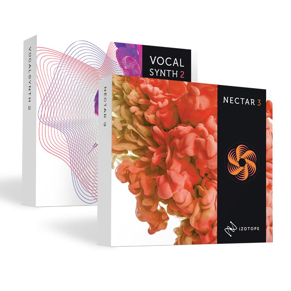 iZotope 2019 Vocal Bundle( Nectar3+ VocalSynth2) ボーカルバンドルV2 【アイゾトープ】