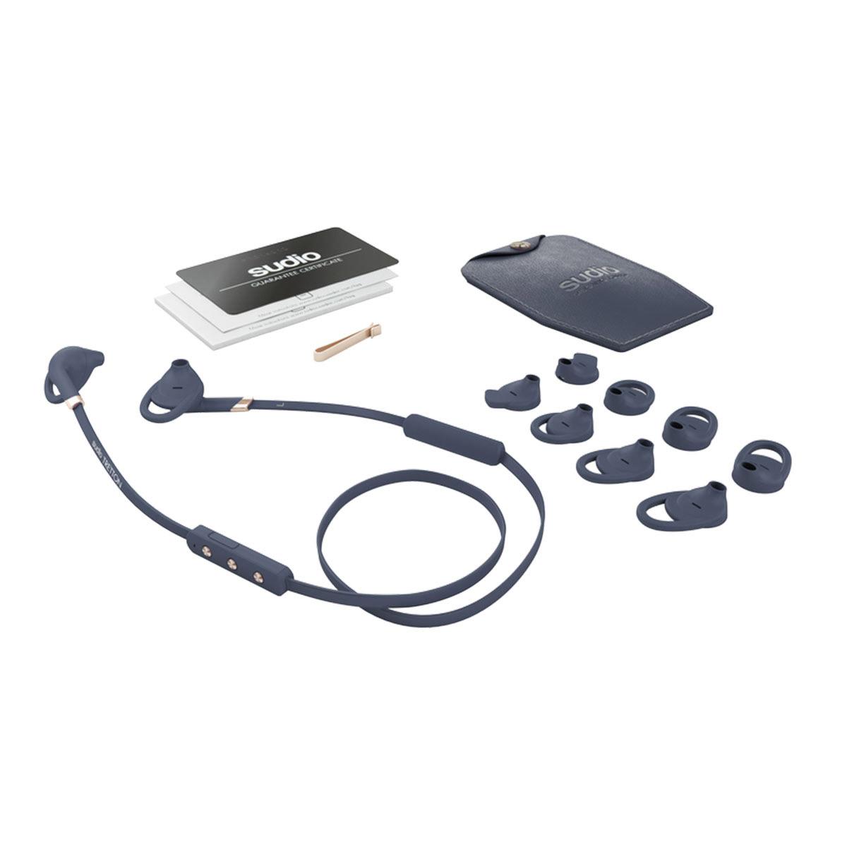 sudio Tretton (Blue) Bluetoothイヤホン ワイヤレスイヤホン 【スーディオ SD-0063】