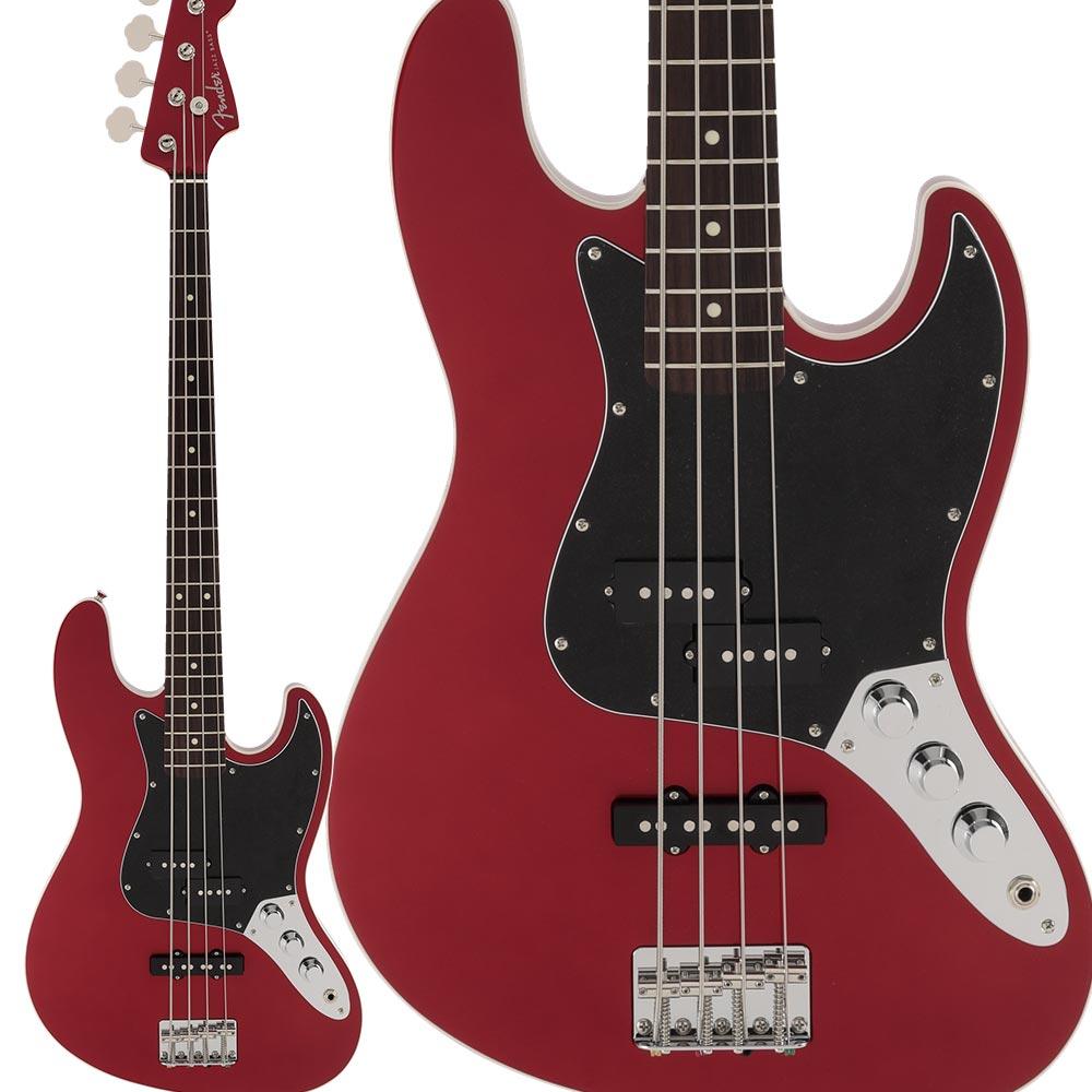 Fender Made in Japan Aerodyne II Jazz Bass Rosewood Fingerboard Candy Apple Red ジャズベース 【フェンダー】