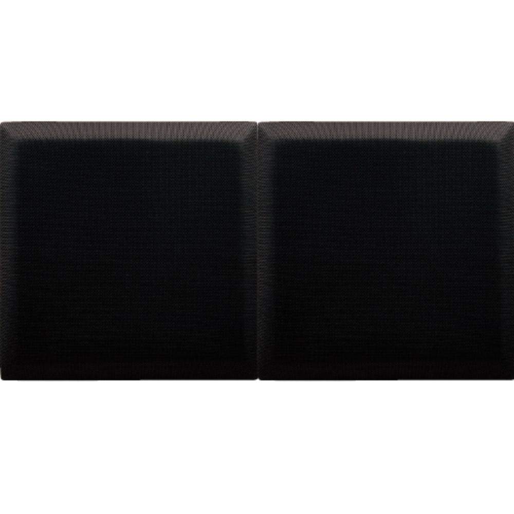DAIKEN オトピタ01 ブラック 4枚入り 音響用インテリア壁材 吸音 遮音 【ダイケン 大建工業 WB0320-11】