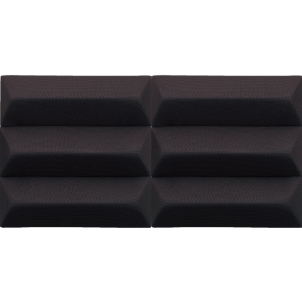 DAIKEN オトピタ04 くさび ブラック 2枚入り 音響用インテリア壁材 吸音 遮音 【ダイケン 大建工業 WB0324-11】