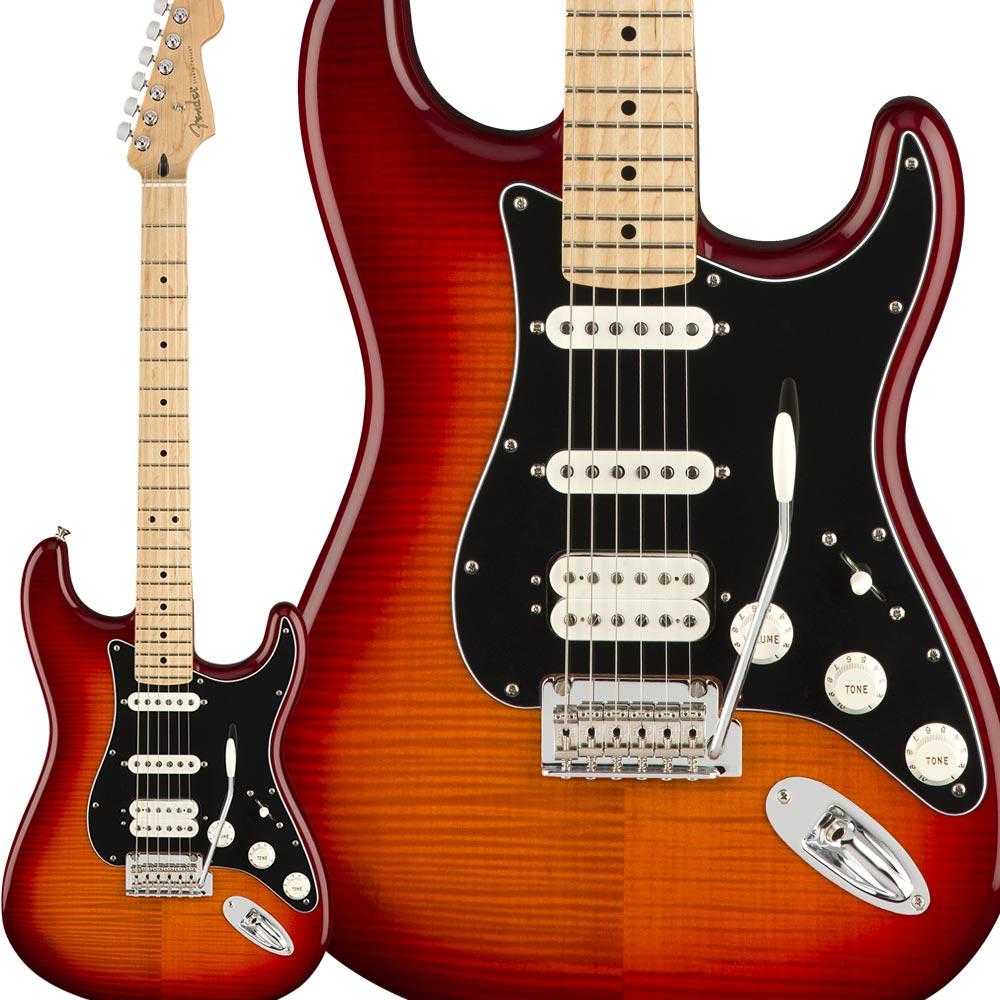 最低価格の Fender Player Stratocaster HSS【フェンダー】 Plus Top, Maple Fingerboard, Aged HSS Aged Cherry Burst ストラトキャスター【フェンダー】, 更級郡:8d3ebeb6 --- cpps.dyndns.info