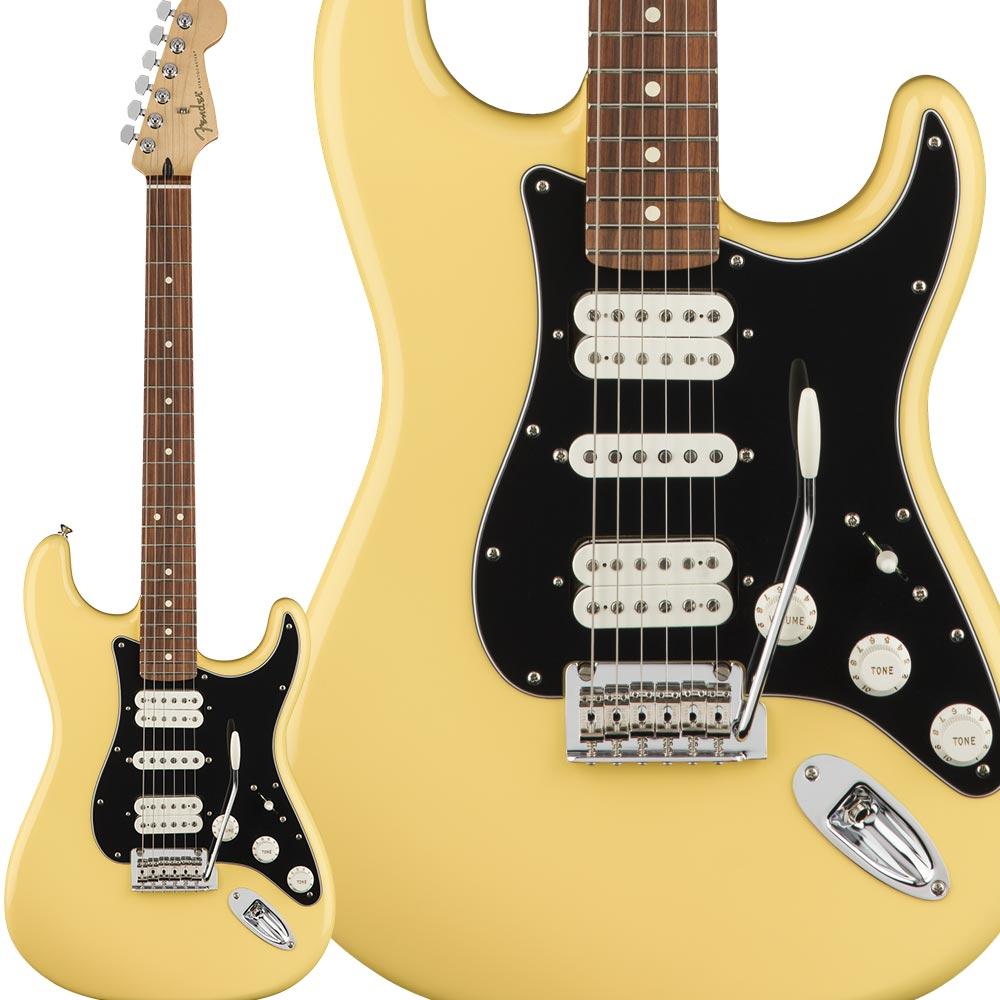 Fender Player Stratocaster HSH, Pau Ferro Fingerboard, Buttercream ストラトキャスター 【フェンダー】