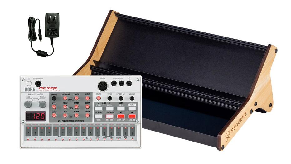KORG volca sample set volcaセット [ volca sample + 専用ラックスタンド + ACアダプター] 【コルグ】