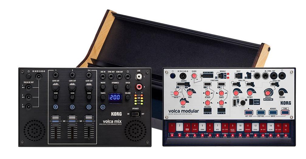 【数量限定】KORG volca modular, volca mix 専用ラックセット 【コルグ ボルカ】
