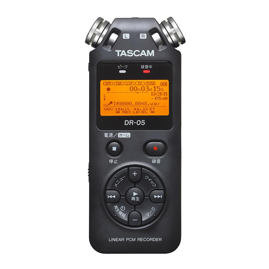 TASCAM DR-05 VER3 リニアPCMレコーダー 【タスカム】