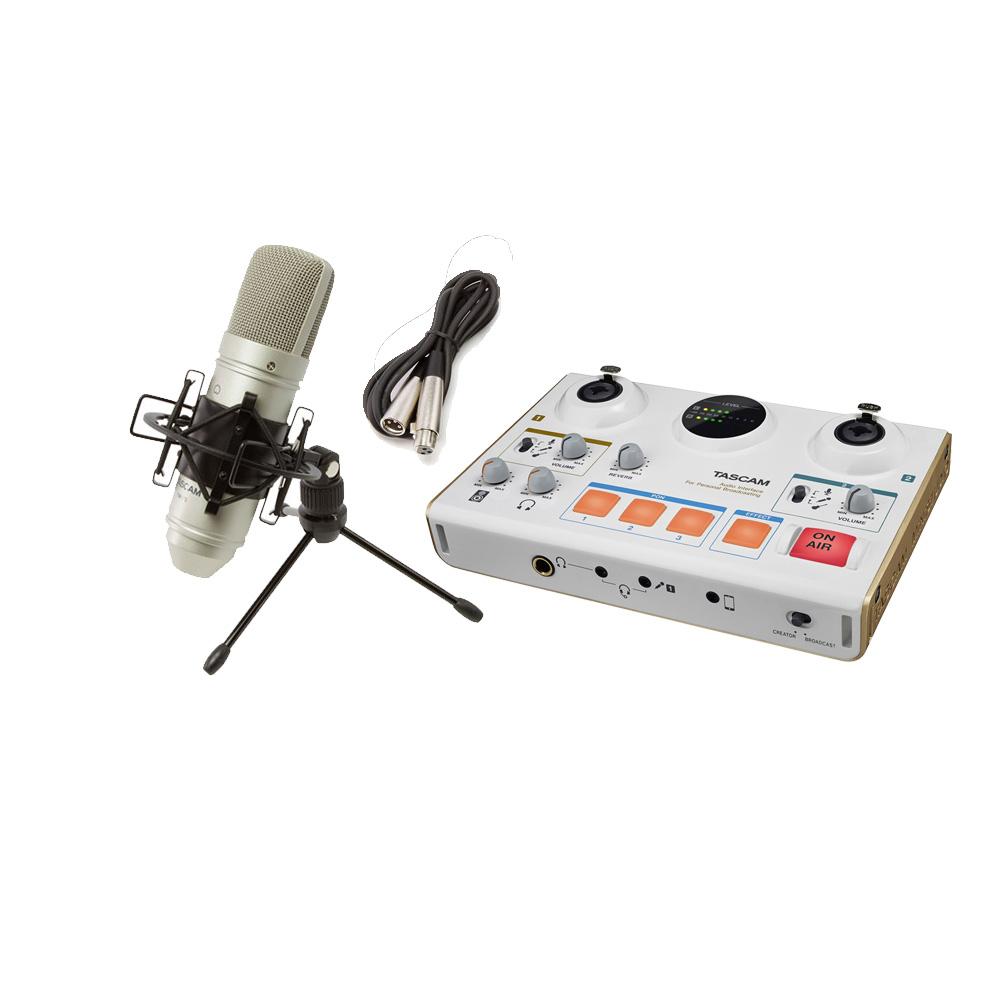 TASCAM [ 歌ってみた/ 演奏してみた]にオススメ! MiNiSTUDIO CREATOR US-42W TM-80 配信・録音セット 【タスカム】