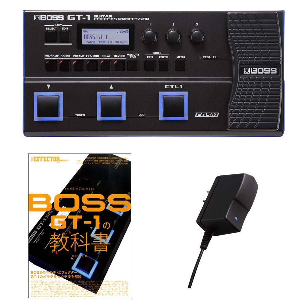 BOSS GT-1 スターターセット 初心者 教科書セット 【ボス GT-1 + 教科書 + PSA-100S2】