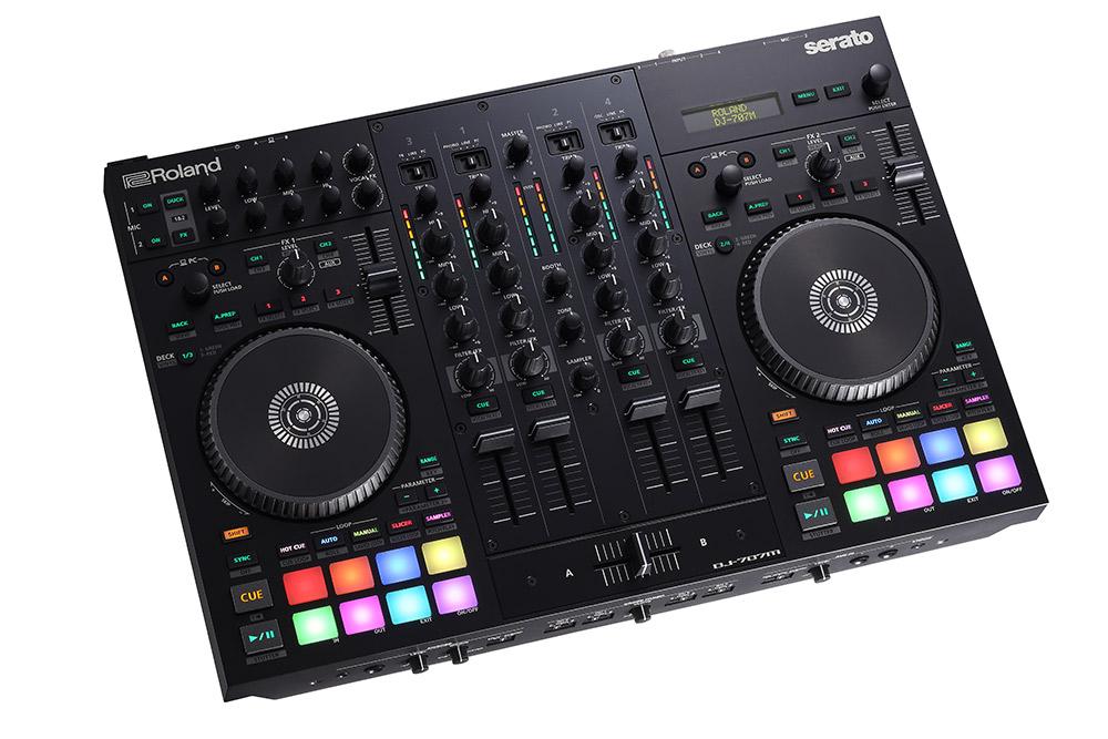 Roland AIRA DJ-707M DJコントローラー 【ローランド DJ707M】