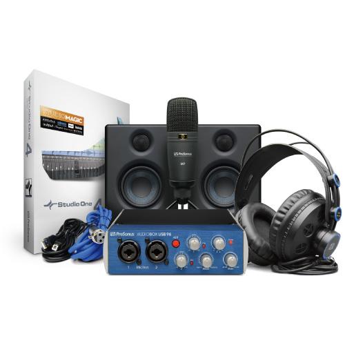 PreSonus AudioBox 96 Studio U オーディオインターフェース 【プレソナス】