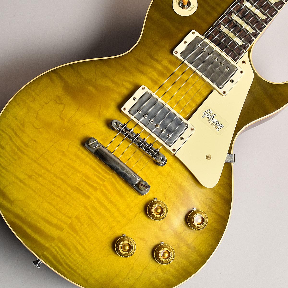 Gibson Custom Shop 60th 1959 Les Paul Standard Green Lemon Fade VOS S/N:991919 【ギブソン カスタムショップ】【60th Anniversary】【未展示品】