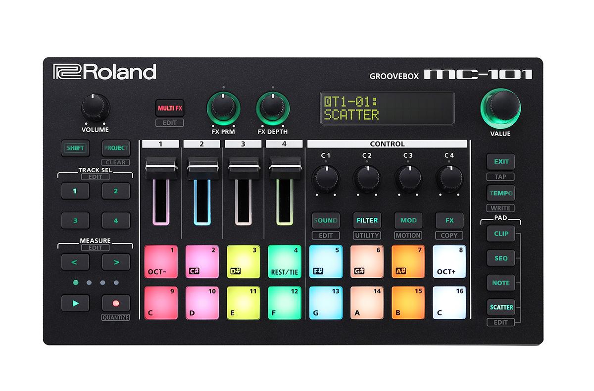 Roland MC-101 AIRA GROOVEBOX 【ローランド MC101】