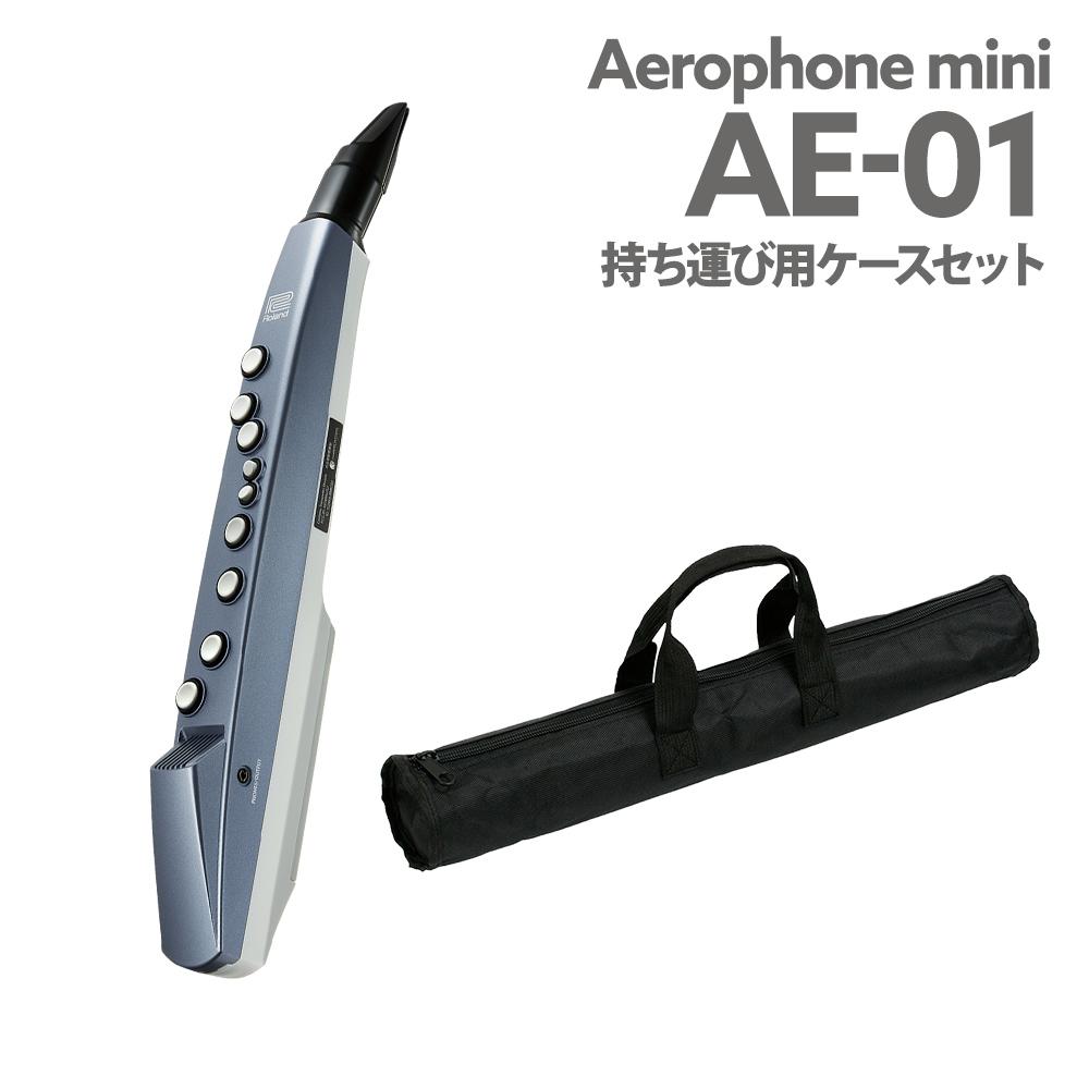 Roland AE-01 持ち運びケース 付き ウインドシンセサイザー 【ローランド AE01 エアロフォン ミニ】