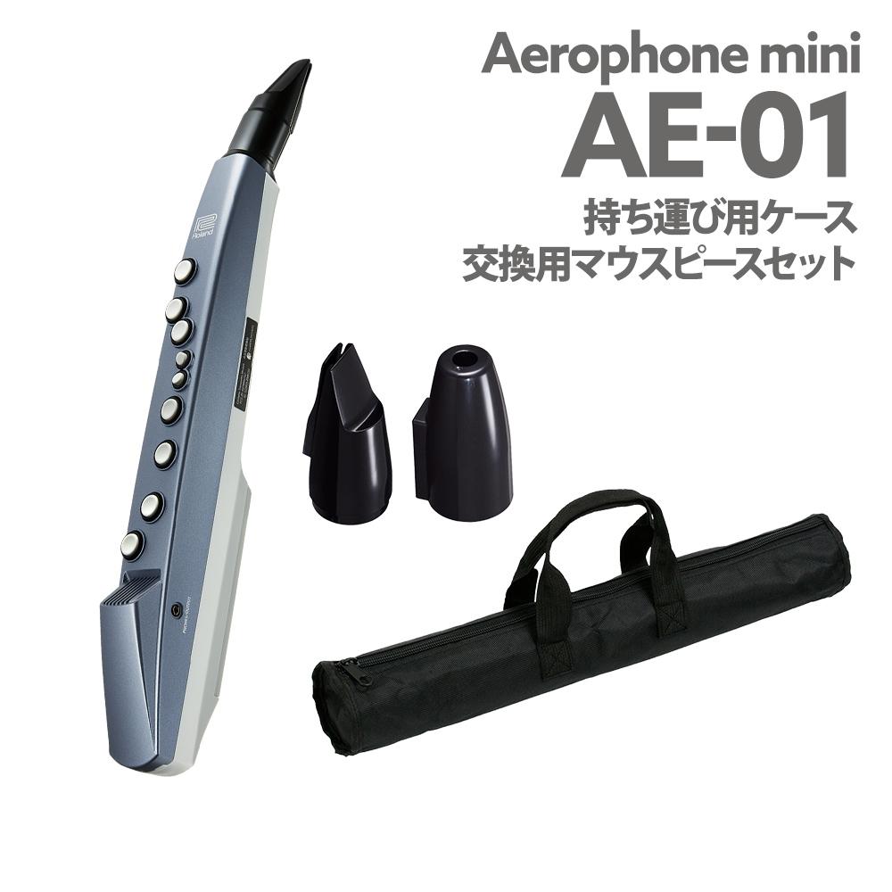 Roland AE-01 ケース 交換用マウスピース セット ウインドシンセサイザー 【ローランド AE01 エアロフォン ミニ】