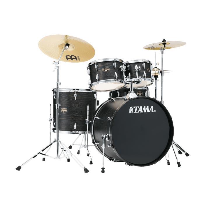TAMA IMPERIALSTAR IE52KH6HC BOW ドラムセット シンバル付 【バスドラム22インチ仕様】 【タマ インペリアルスター ブラックオークラップ】