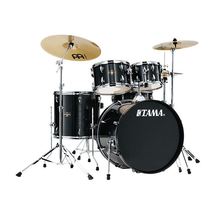 TAMA IMPERIALSTAR IE52KH6HC HBK ドラムセット シンバル付 【バスドラム22インチ仕様】 【タマ インペリアルスター ヘアラインブラック】