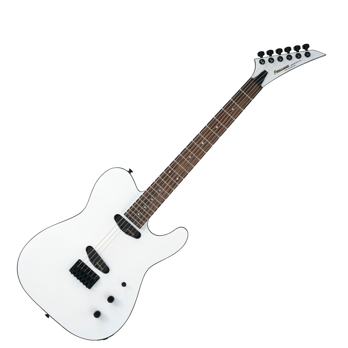 FERNANDES TEJ-STD 2S 2019 SW スノーホワイト エレキギター TEJシリーズ 【フェルナンデス】