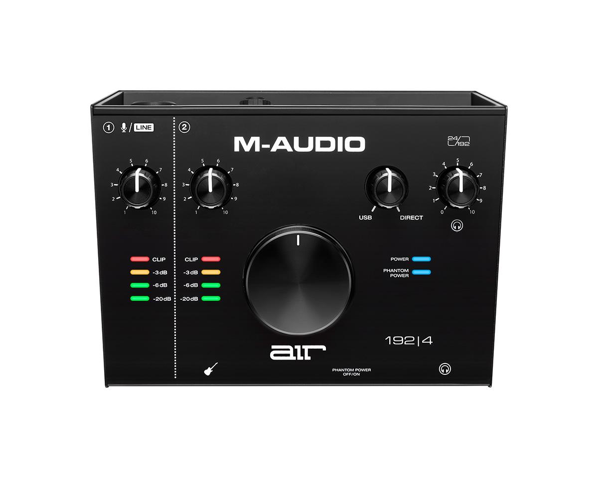 M-AUDIO AIR 192 | 4 USB type C 搭載 オーディオインターフェース 【Mオーディオ】