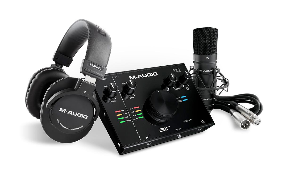 M-AUDIO AIR 192 | 4 Vocal Studio Pro ボーカルレコーディングパッケージ 【Mオーディオ】