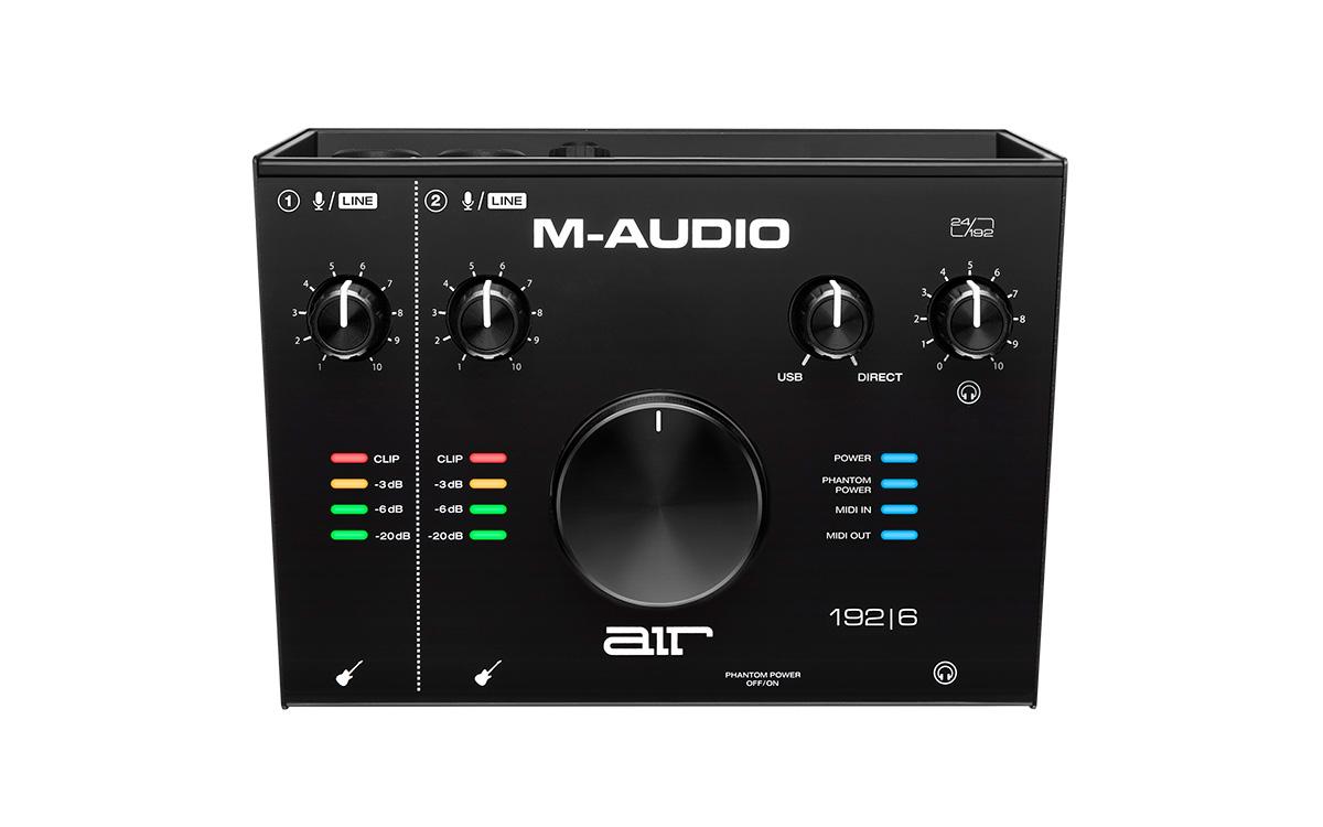 M-AUDIO AIR 192 | 6 USB type C 搭載 オーディオインターフェース 【Mオーディオ】