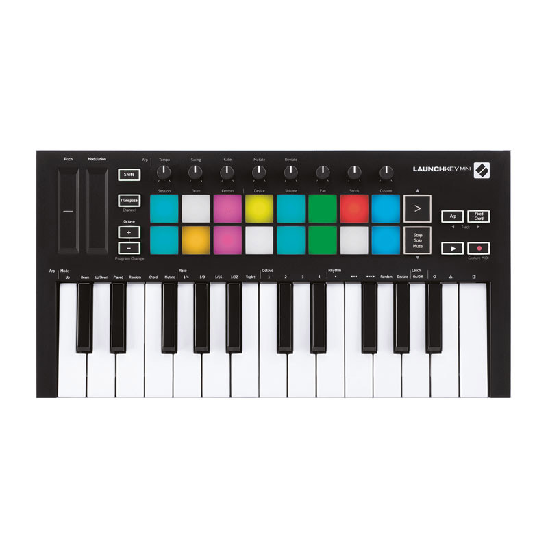 novation LAUNCHKEY mini MK3 25鍵盤 MIDIキーボード 【ノベーション】