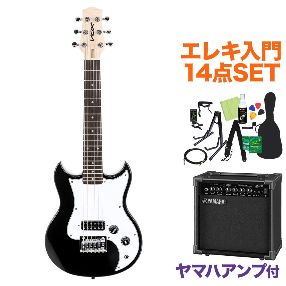 <title>◆セール特価品◆ VOX SDC-1 MINI BK ミニエレキギター初心者14点セット ヤマハアンプ付き ボックス</title>