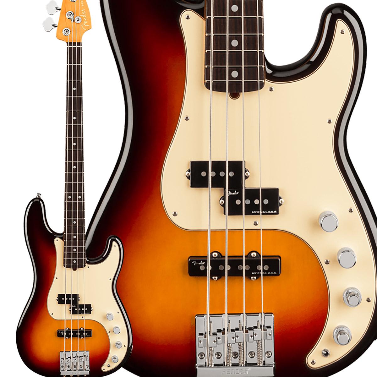 Fender American Ultra Precision Bass Rosewood Fingerboard Ultraburst プレシジョンベース 【フェンダー】