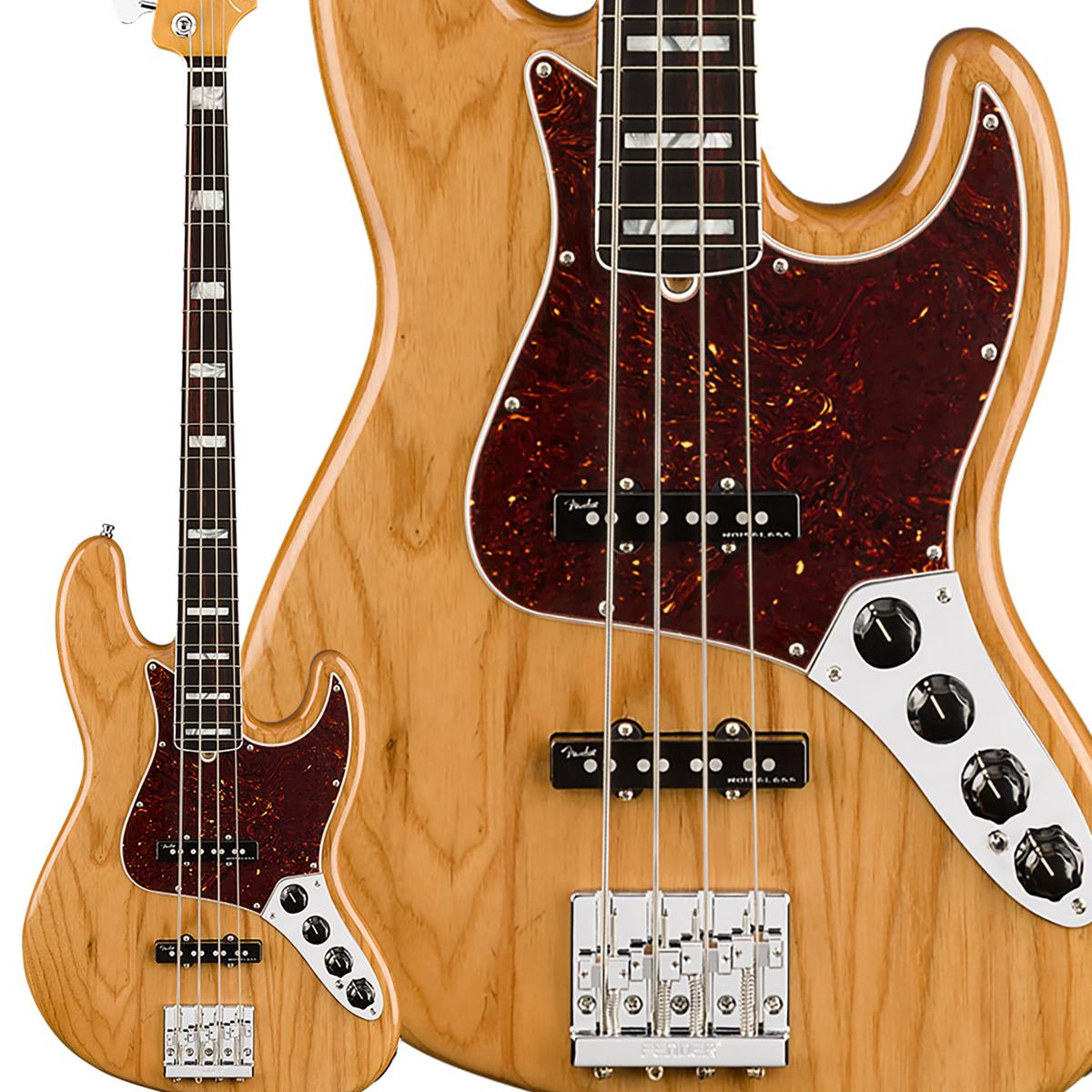Fender American Ultra Jazz Bass Rosewood Fingerboard Aged Natural ジャズベース 【フェンダー】
