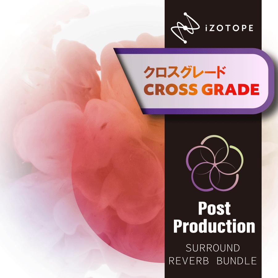 [特価 2019/12/10迄] iZotope Post Production Surround Reverb Bundle クロスグレード版 from RX1-7 Standard [メール納品 代引き不可] 【アイゾトープ】