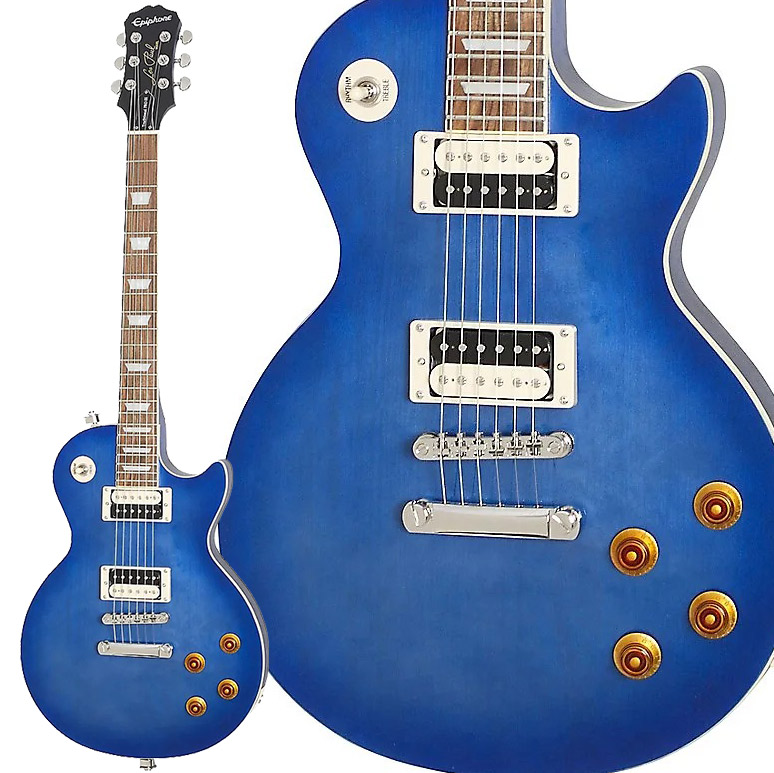 Epiphone Les Paul Traditional PRO-III Pacific Blue エレキギター レスポール 【エピフォン】