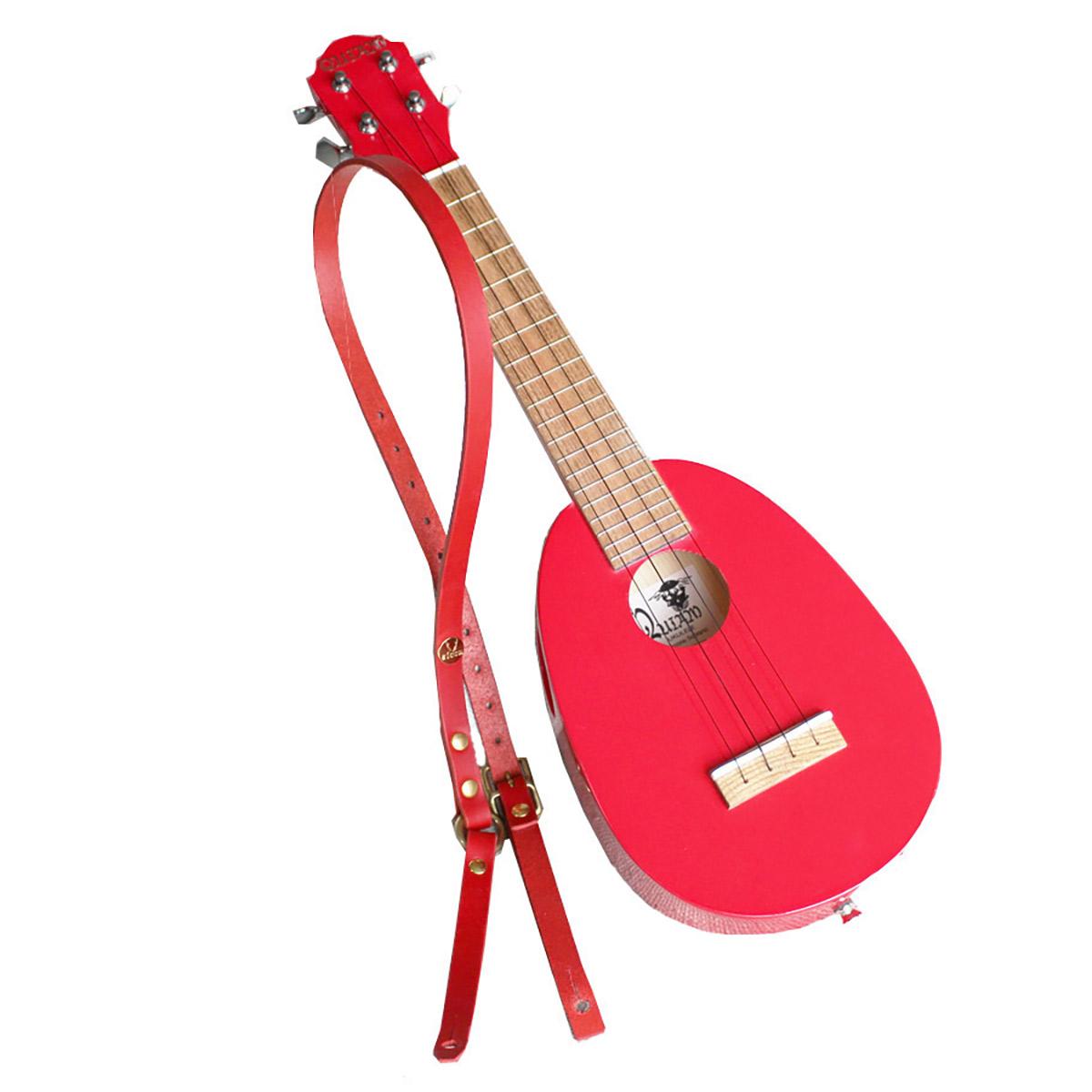 QUIAM Pinecone Soprano エゾズウクレレ パインコーンソプラノ クリスマスレッド 【クワイアン】【数量限定品】