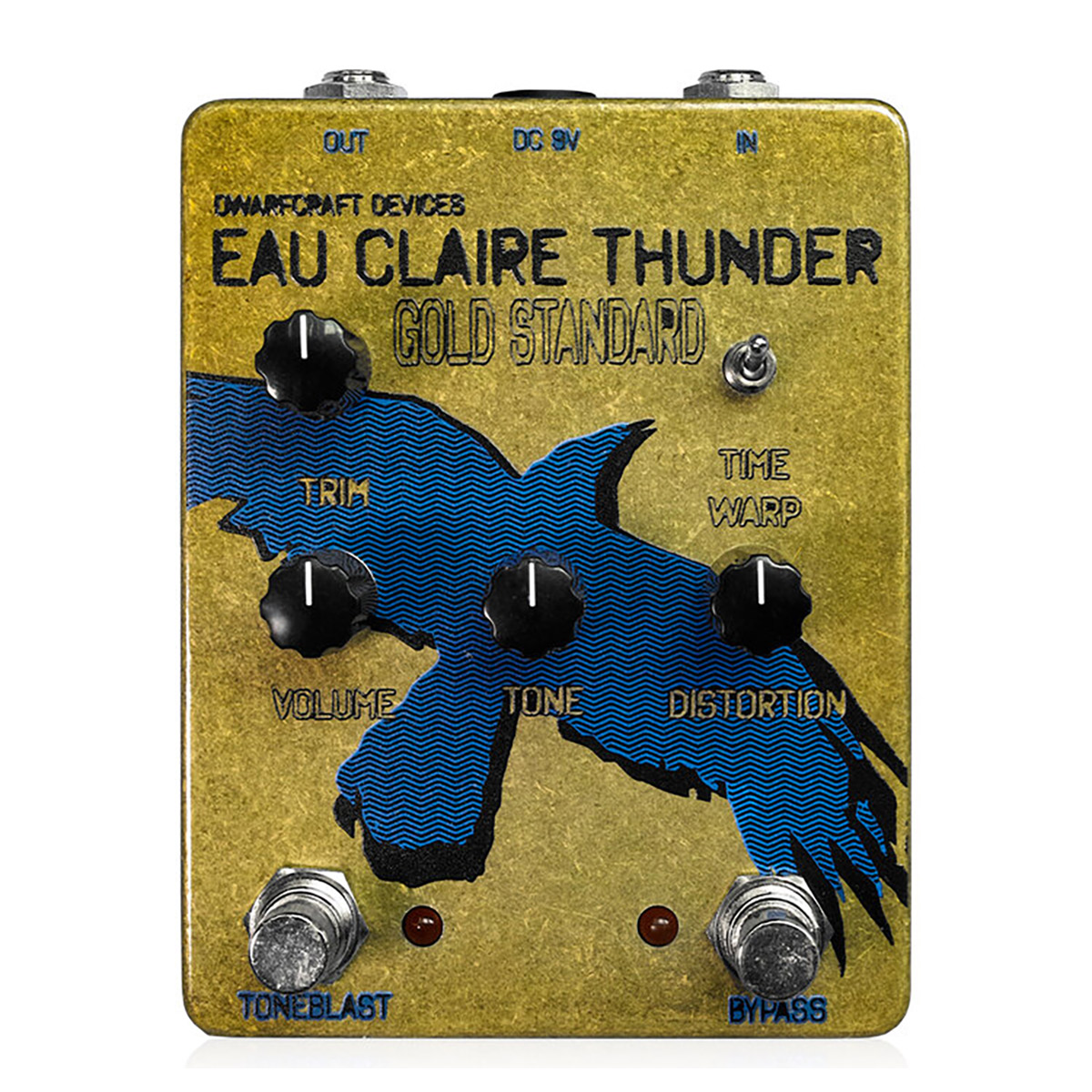 dwarfcraft devices Gold Standard Eau Claire Thunder コンパクトエフェクター ファズ 【ドワーフクラフトデヴァイセズ】
