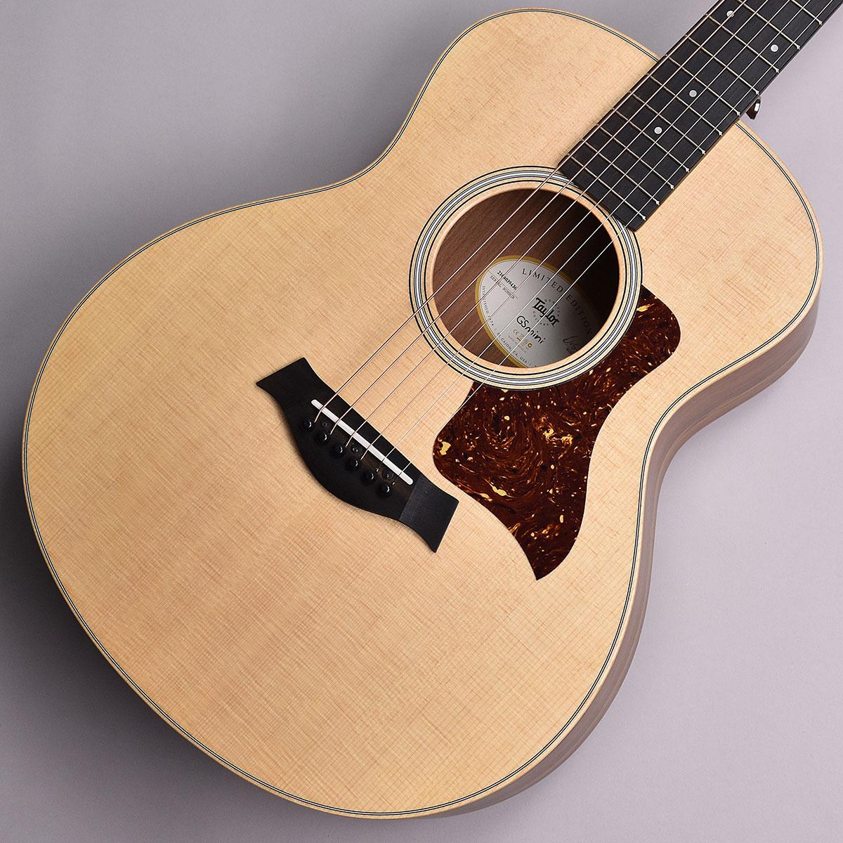 Taylor GS Mini-e Ovangkol Limited S/N:2104039436 ミニアコースティックギター【エレアコ】 【テイラー】【未展示品】