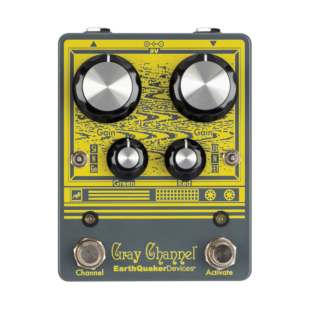 EarthQuaker Devices Gray Channel コンパクトエフェクター ダイナミックダートダブラー 【アースクエイカーデバイス】