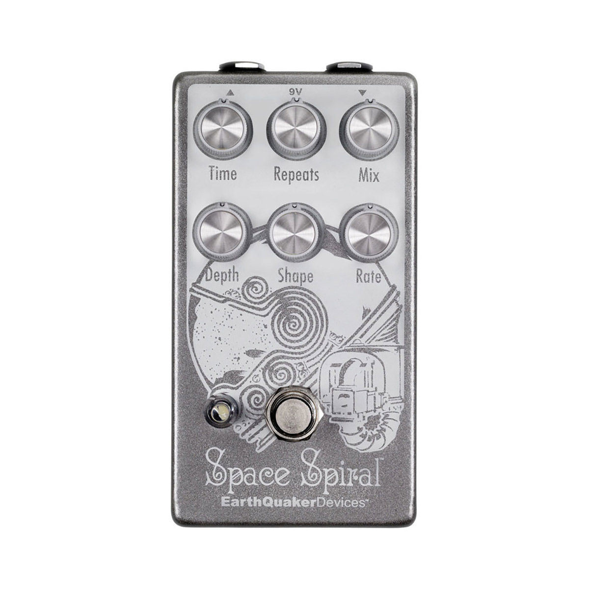 EarthQuaker Devices Space Spiral コンパクトエフェクター モジュレーションディレイ 【アースクエイカーデバイス】