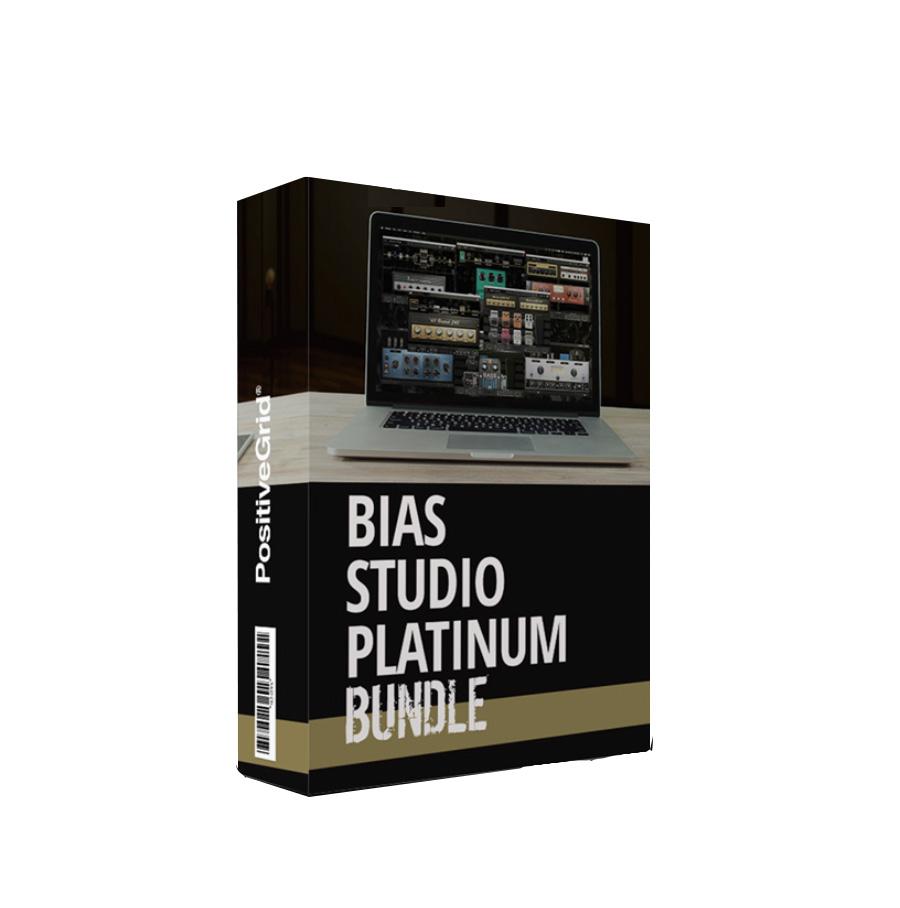 [特価 2019/11/30迄] Positive Grid BIAS Studio Platinum 【ポジティブグリッド】