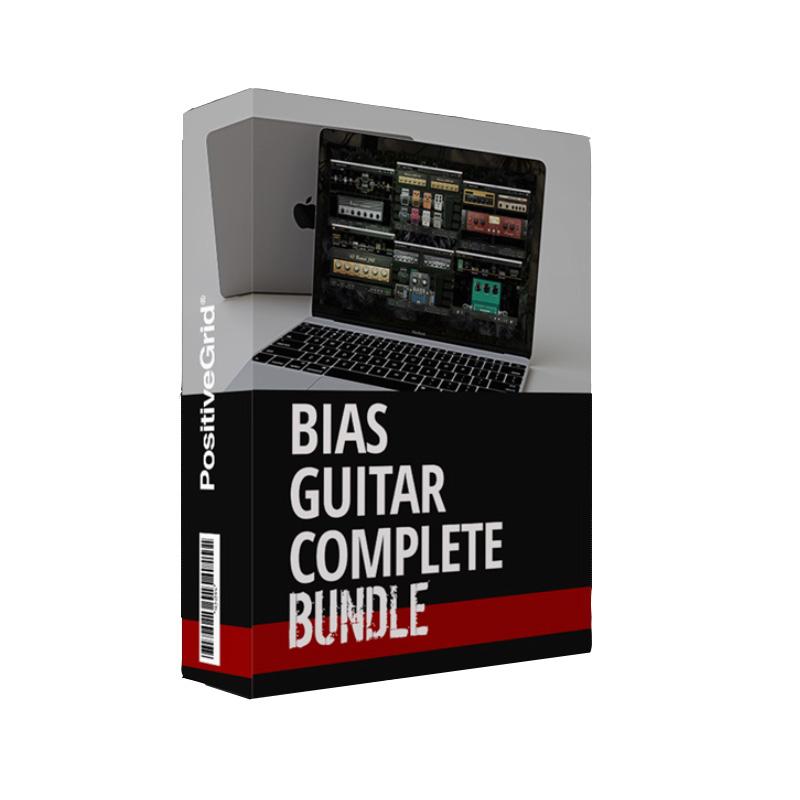 [特価 2019/11/30迄] Positive Grid BIAS Guitar Complete 【ポジティブグリッド】