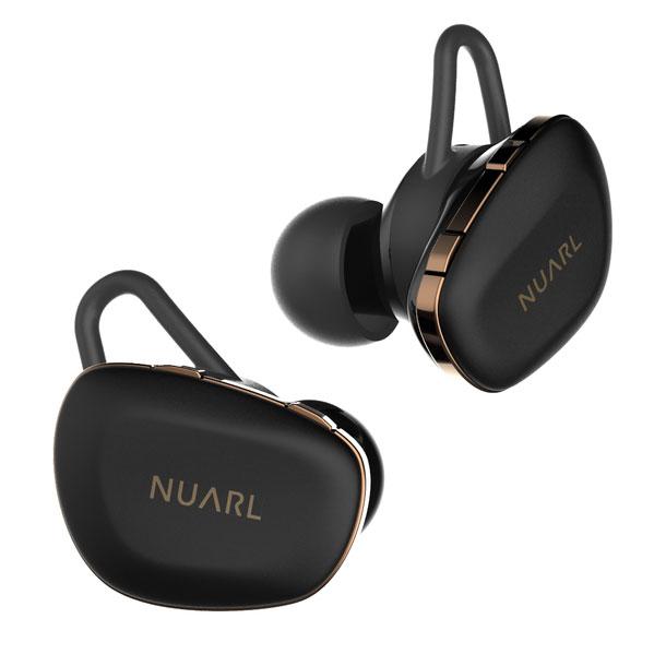 NUARL N6PRO-MB マットブラック 完全ワイヤレスイヤホン 【ヌアール N6PRO】【予約受付中:2019年12月13日発売予定】