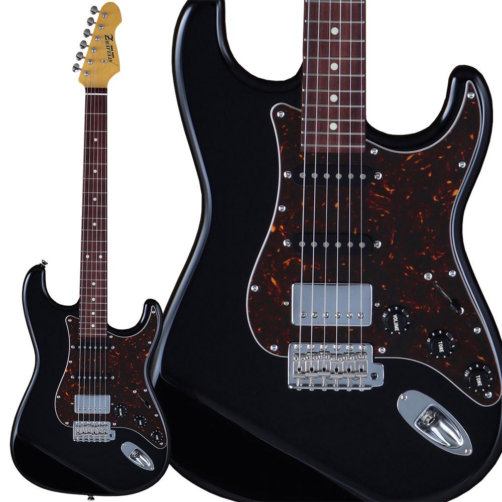 ATELIER Z L.E.S. II SSH Black ストラトキャスタータイプ ギター 【アトリエZ】