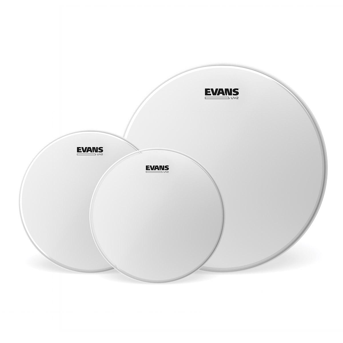 EVANS ETP-UV2-R ROCK ドラムヘッドパック 10/12/16インチ 【エバンス TOMPACK UV2 CTD】