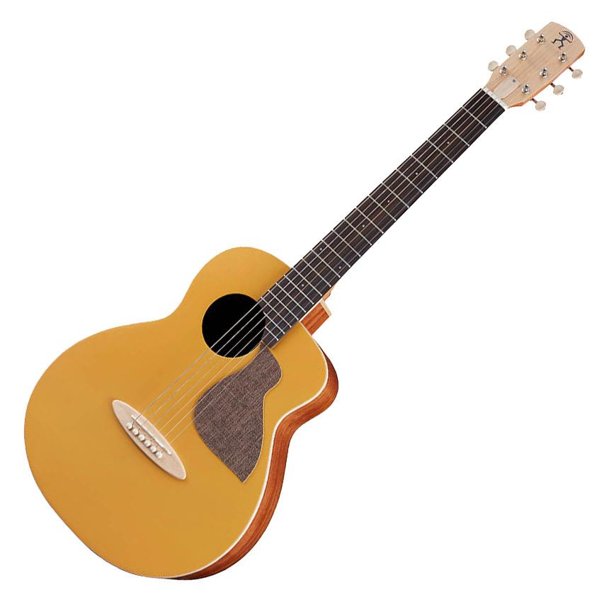 aNueNue aNN-MC10-GG Golden Glow ミニアコースティックギター【BirdGuitar】【Colorシリーズ】 【アヌエヌエ】